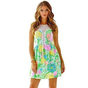 Lilly Pulitzer Hibiscus Stroll Raegan Dress | 00